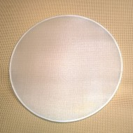 Hedvábí na rámu - Vitráž kruh 20cm Ponge 5