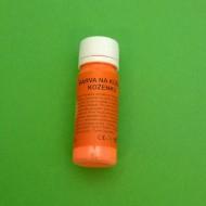 Barva na kůži a koženku 73 neon oranžová