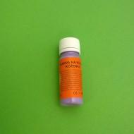 Barva na kůži a koženku 41 fialová