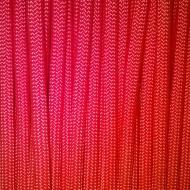 Šňůra PARACORD červená 320