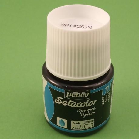 barva na textil PEBEO - černá