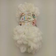 Puff Alize bílá č.55