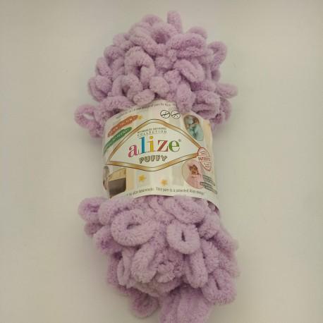 Puff Alize fialková č.27